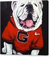 Top Dawg Canvas Print by Pete Maier