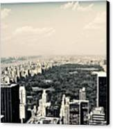 Top Of The Rock Canvas Print by Ariane Moshayedi