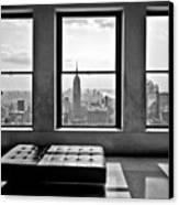 Top Of The Rock Canvas Print by Thomas Splietker