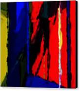 Torment Canvas Print by Richard Rizzo