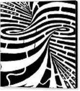 Tornado Maze Canvas Print