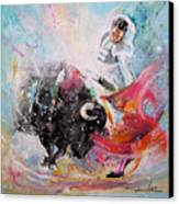 Toro Tempest Canvas Print