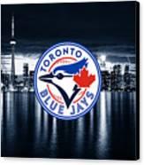 Toronto Blue Jays City Canvas Print