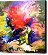 Toroscape 06 Canvas Print by Miki De Goodaboom