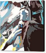 Toroscape 31 Canvas Print by Miki De Goodaboom