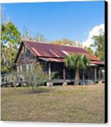 Tosohatchee Cattle Ranch In Central Florida Canvas Print