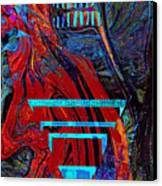 Totem Pole Canvas Print by Anne Weirich