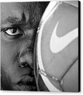 Tough Like A Nike Ball Canvas Print
