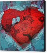 Tough Love Canvas Print by Linda Sannuti