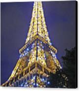 Tour Eiffel 2007 Canvas Print