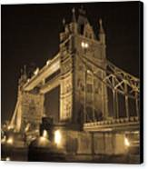 Tower Bridge Of London Canvas Print
