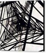 Tower Grid Canvas Print
