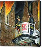 Tower Ladder 44-south Bronx Canvas Print