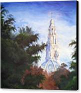 Tower Over The Grove II Canvas Print