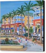Town Center Abacoa Jupiter Canvas Print