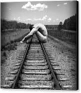 Tracks Canvas Print by Chance Manart