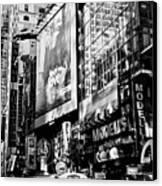 Traffic Jungle Canvas Print by Darren Scicluna