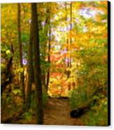 Trailhead Light Canvas Print by Ed Smith