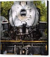 Train - Engine - 4039 American Locomotive Company  Canvas Print by Mike Savad