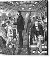 Train: Passenger Car, 1876 Canvas Print