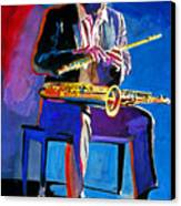 Trane - John Coltrane Canvas Print