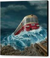 Trans Europe Express Canvas Print