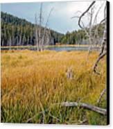 Trap Lake Co Canvas Print by James Steele