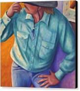 Travelin Man Canvas Print