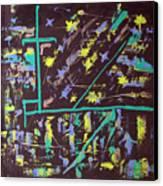 Trawler And Wharf Canvas Print