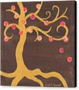 Tree Of Life - Left Canvas Print by Kristi L Randall