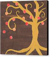 Tree Of Life - Right Canvas Print by Kristi L Randall