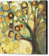 Tree Of Life In Autumn Canvas Print by Jennifer Lommers
