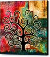 Tree Of Life Canvas Print by Jaison Cianelli