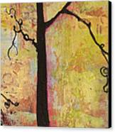 Tree Print Triptych Section 2 Canvas Print by Blenda Studio