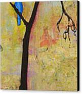 Tree Print Triptych Section 3 Canvas Print by Blenda Studio