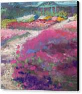 Trial Gardens In Fort Collins Canvas Print by Grace Goodson