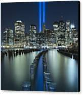 Tribute In Light Canvas Print by Evelina Kremsdorf