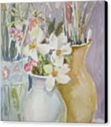 Trio Canvas Print by Dorothy Herron