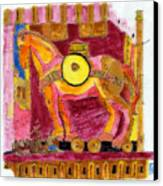 Trojan Horse Canvas Print by Phil Strang