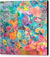 Tropical Coral Canvas Print by Hilary Simon