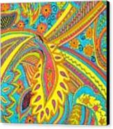 Tropical Sizzle Canvas Print