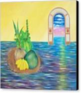 Tropical Still Life Canvas Print