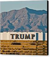 Trump Tower Nevada Canvas Print by Andy Smy