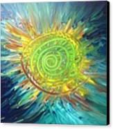 Tsunami Sun Canvas Print