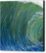 Tube Of Water Canvas Print