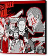Tucker And Dale Vs. Evil Canvas Print