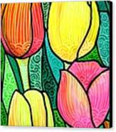 Tulip Expo Canvas Print