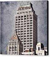 Tulsa Art Deco I Canvas Print by Tamyra Ayles