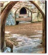 Tunnel Vision Canvas Print by Michael Garyet