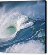 Turbulent Shorebreak Canvas Print
